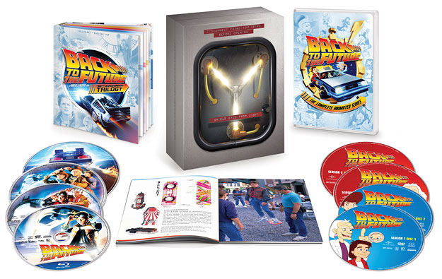 Back to the Future: 30th Anniversary Trilogy Box set (Blu-ray Disc)