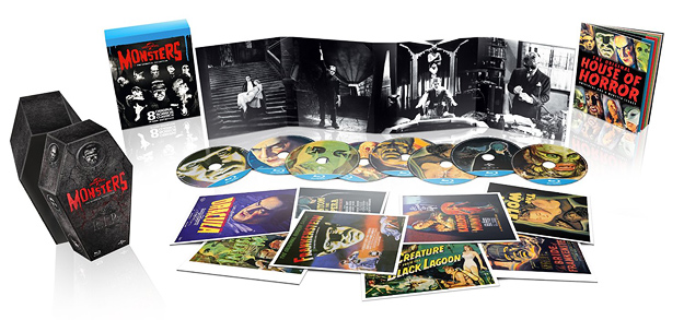 Universal Classic Monsters Collection (Italian Blu-ray)