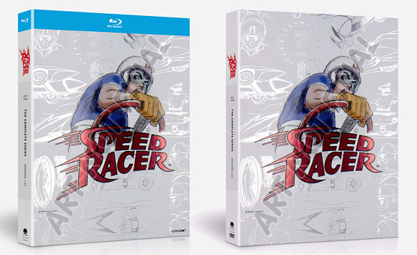 Speed Racer: The Complete Series (temp Blu-ray and DVD)
