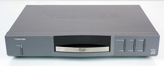 Toshiba's first DVD player - the SD-2006