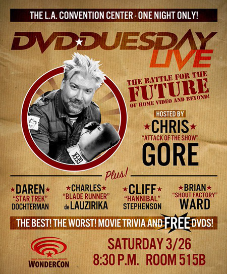 Chris Gore's DVD-Duesday at WonderCon 2016