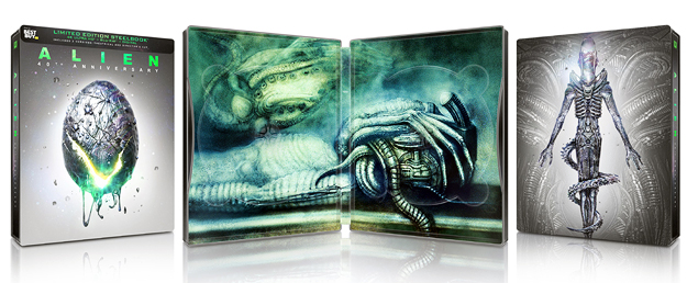 Alien: 40th Anniversary (Best Buy 4K Ultra HD Steelbook)