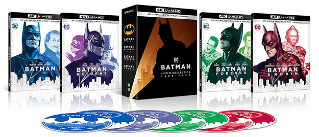 Batman: 4-Film Collection (4K Ultra HD)
