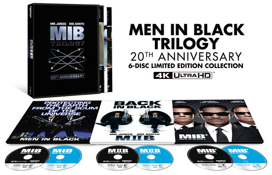 Men in Black Trilogy (4K Ultra HD Blu-ray)