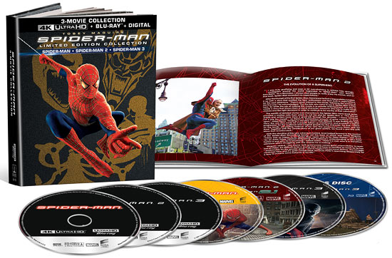 The Spider-Man Trilogy (4K Ultra HD)