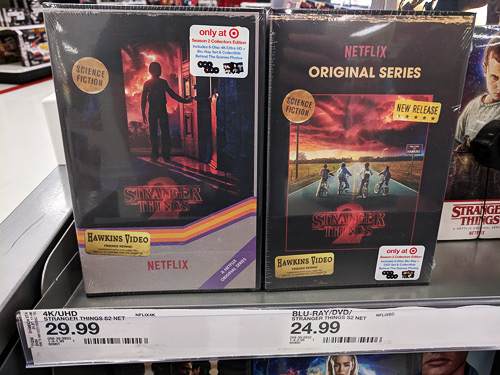 Stranger Things: Season 2 at Target