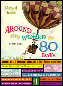 The roadshow booklet for Around the World in 80 Days