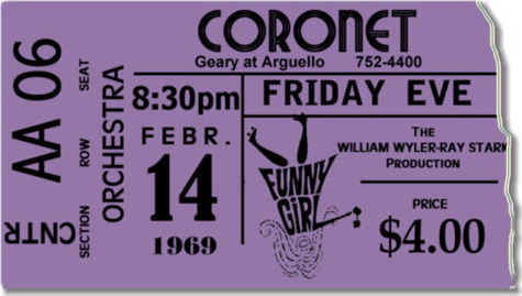 Funny Girl - Cornet Ticket