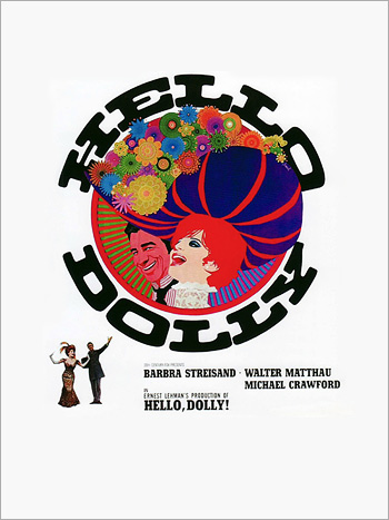 Hello Dolly roadshow program