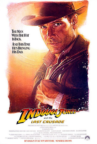 Indiana Jones and the Last Crusade poster (version 1)