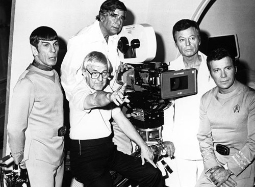 The cast and crew of Star Trek: The Motion Picture