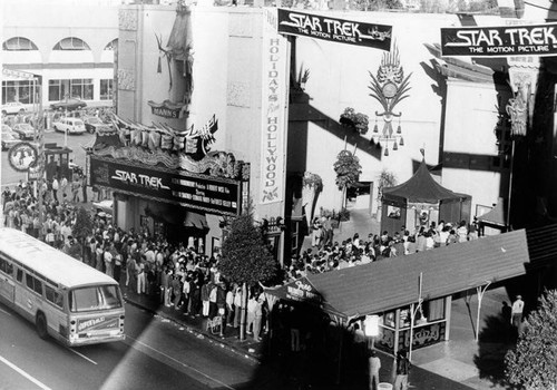 The premiere of Star Trek: The Motion Picture