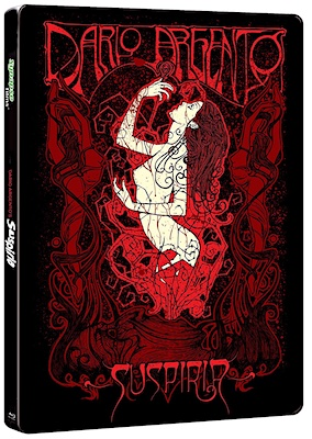 Suspiria (Steelbook Blu-ray Disc)