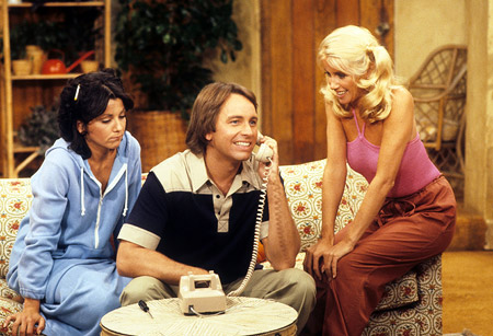A scene from Three's Company