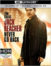 Jack Racher: Never Go Back (4K Ultra HD Blu-ray)