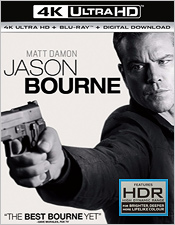 Jason Bourne (4K Ultra HD Blu-ray)