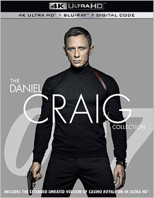 007: The Daniel Craig Collection (4K UHD)