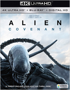Alien: Covenant (4K Ultra HD Blu-ray)