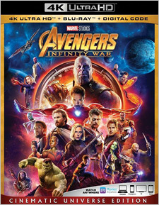 Avengers: Infinity War (4K Ultra HD)