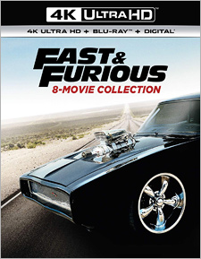 Fast and Furious: 8-Movie Collection (4K UHD)