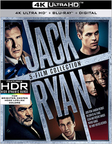 Jack Ryan: 5-Film Collection (4K Ultra HD)