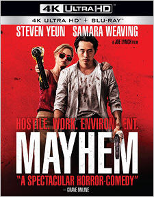 Mayhem (4K Ultra HD Blu-ray)