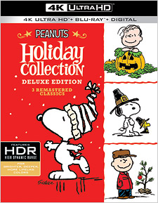 Peanuts Holiday Collection (4K Ultra HD Blu-ray)