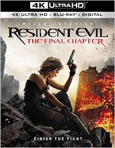 Resident Evil: The Final Chapter (4K Ultra HD Blu-ray)