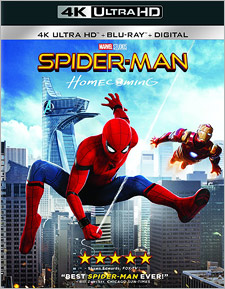 Spider-Man: Homecoming (4K Ultra HD Blu-ray)