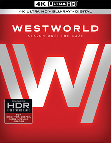 Westworld: Season One (4K Ultra HD Blu-ray)