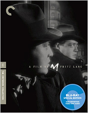 M (Criterion Blu-ray Disc)