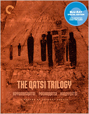 The Qatsi Trilogy (Criterion Blu-ray Disc)