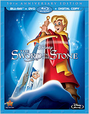 The Sword and the Stone: 50th Anniversary Edition (Blu-ray Disc)