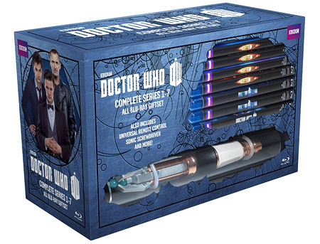 Doctor Who: Series 1-7 Limited Edition (Blu-ray Disc)