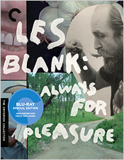 Les Blank: Always for Pleasure (Blu-ray Disc)