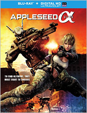 Appleseed Alpha (Blu-ray Disc)
