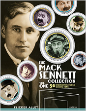 The Mack Sennett Collection: Volume One (Blu-ray Disc)
