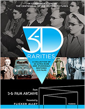 3-D Rarities (Blu-ray Disc)