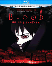 Blood: The Last Vampire (2000 anime Blu-ray Disc)