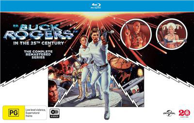 Buck Rogers in the 25th Century: The Complete Remastered Series (Region B Blu-ray Disc)