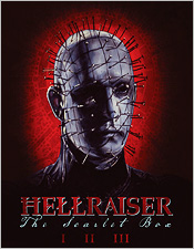 The Hellraiser Scarlet Box (Blu-ray Disc)