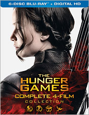 The Hunger Games: The Complete 4-Film Collection (Blu-ray Disc)