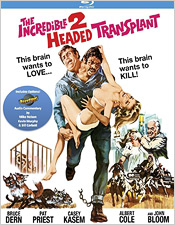 The Incredible Two-Headed Transplant (Blu-ray Disc)