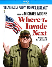 Where to Invade Next (Blu-ray Disc)