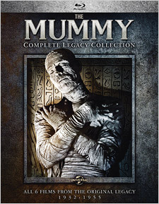The Mummy: The Complete Legacy Collection (Blu-ray Disc)