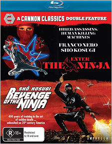 Enter the Ninja / Revenge of the Ninja (Region B - Blu-ray Disc)