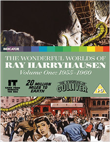 The Wonderful World of Ray Harryhausen, Volume One: 1955-1960 (Blu-ray Disc)