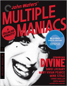 Multiple Maniacs (Criterion Blu-ray)