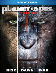 Planet of the Apes Trilogy (Blu-ray Disc)