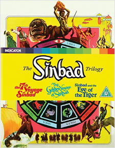 The Sinbad Trilogy (All Region Blu-ray Disc)